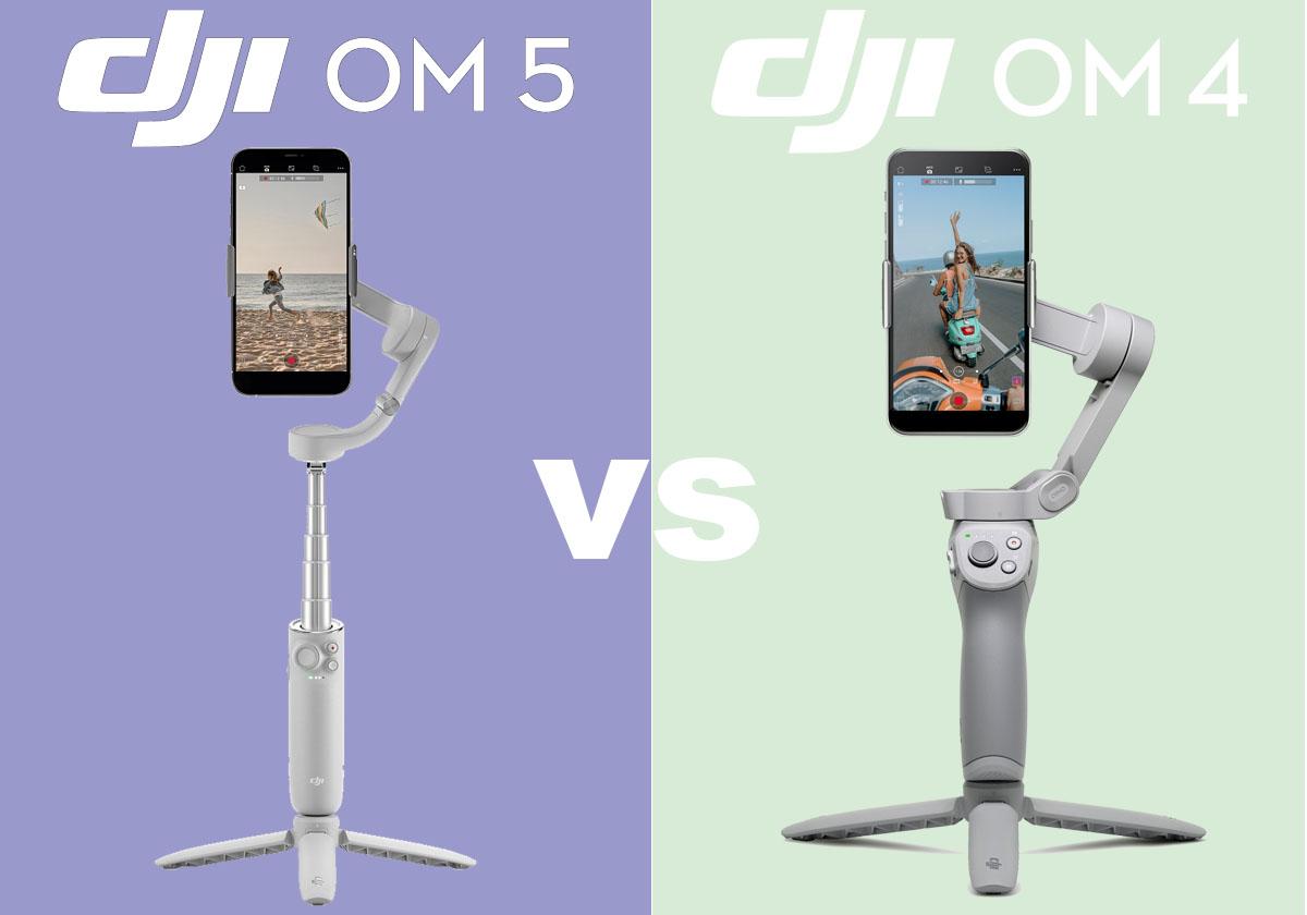 DJI OM 5 vs. DJI OM 4