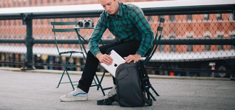¿Quieres llevar un ordenador portátil o una tableta en tu sling bag?