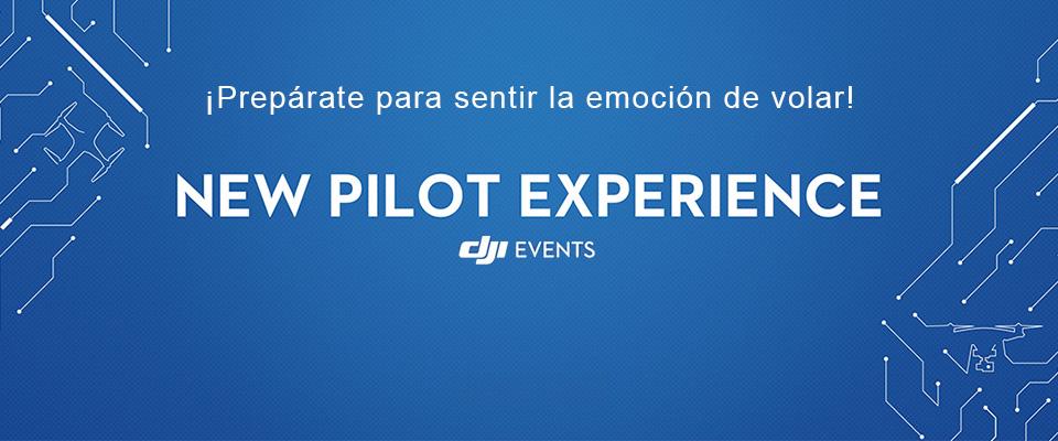 Slide DJI New Pilot Experience
